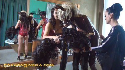 Photo number 7 from Horny Horse Power: Chapter One shot for Carmen Rivera on Kink.com. Featuring Ella Kross, Fetish Liza, Carmen Rivera, Pony Browni and Blashure in hardcore BDSM & Fetish porn.