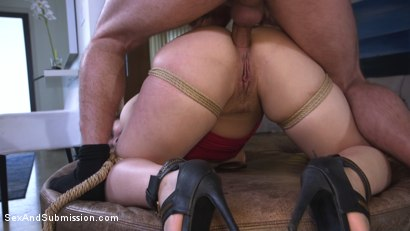 Photo number 9 from Anal Ransom shot for Sex And Submission on Kink.com. Featuring Kimber Woods and Mr. Pete in hardcore BDSM & Fetish porn.