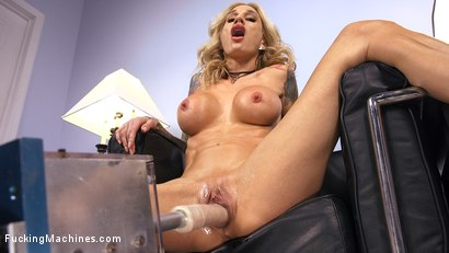 Photo number 8 from Blonde MILF has Machine Sex for the First Time shot for Fucking Machines on Kink.com. Featuring Sarah Jessie in hardcore BDSM & Fetish porn.