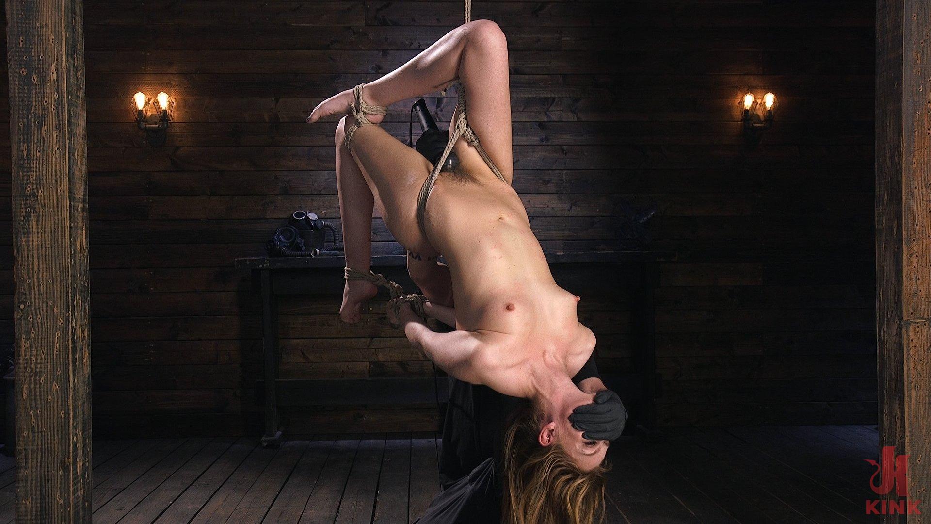 Photo number 8 from Brutal Predicament Bondage, Grueling Torment, and Mind Blowing Orgasms shot for Hogtied on Kink.com. Featuring Maya Kendrick in hardcore BDSM & Fetish porn.