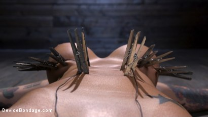 Photo number 11 from Tana Lea Is A Hard Nut to Crack shot for Device Bondage on Kink.com. Featuring Tana Lea in hardcore BDSM & Fetish porn.
