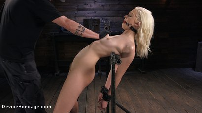 Photo number 1 from Newbie is Trapped in Evil Devices and Tormented shot for Device Bondage on Kink.com. Featuring Chloe Cherry in hardcore BDSM & Fetish porn.