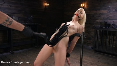 Photo number 2 from Newbie is Trapped in Evil Devices and Tormented shot for Device Bondage on Kink.com. Featuring Chloe Cherry in hardcore BDSM & Fetish porn.