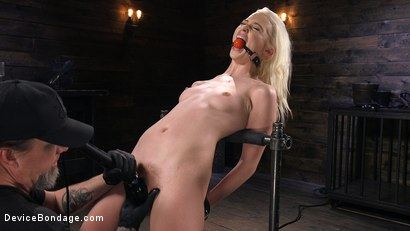 Photo number 5 from Newbie is Trapped in Evil Devices and Tormented shot for Device Bondage on Kink.com. Featuring Chloe Cherry in hardcore BDSM & Fetish porn.