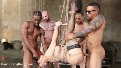 Photo number 11 from Angel Allwood Fucks Five Strangers  shot for Bound Gang Bangs on Kink.com. Featuring Angel Allwood, Eddie Jaye, Rob Piper, Cyrus King , Donny Sins and Ray Black in hardcore BDSM & Fetish porn.