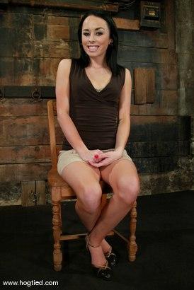 Photo number 1 from Alexa Von Tess shot for Hogtied on Kink.com. Featuring Alexa Von Tess in hardcore BDSM & Fetish porn.