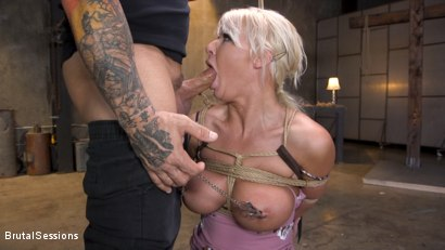 Photo number 12 from Pain Slut MILF London River Brutalized with Rough Sex and Rope Bondage shot for Brutal Sessions on Kink.com. Featuring Derrick Pierce and London River in hardcore BDSM & Fetish porn.