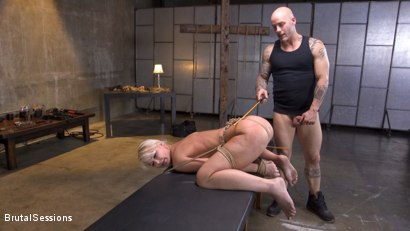 Photo number 20 from Pain Slut MILF London River Brutalized with Rough Sex and Rope Bondage shot for Brutal Sessions on Kink.com. Featuring Derrick Pierce and London River in hardcore BDSM & Fetish porn.