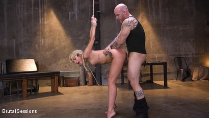 Photo number 7 from Carmen Caliente Does It All For Dick shot for Brutal Sessions on Kink.com. Featuring Derrick Pierce and Carmen Caliente in hardcore BDSM & Fetish porn.