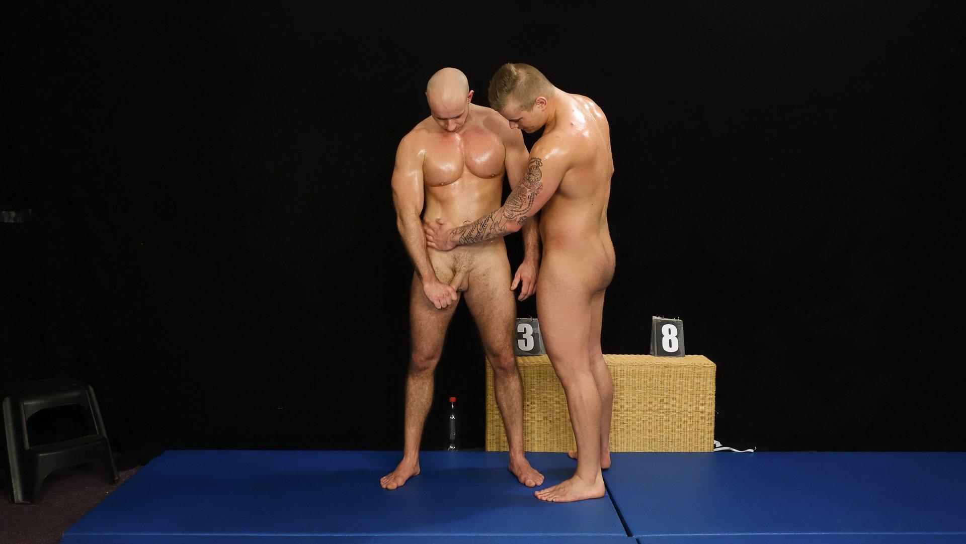 Photo number 3 from Jindra vs Marek - WRESTLING shot for swnude on Kink.com. Featuring Jindra Durak and Marek Borek in hardcore BDSM & Fetish porn.