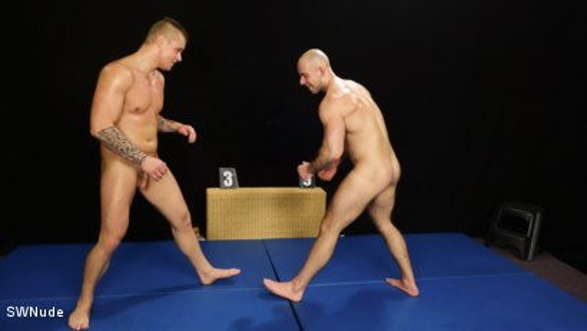 Photo number 5 from Jindra vs Marek - WRESTLING shot for swnude on Kink.com. Featuring Jindra Durak and Marek Borek in hardcore BDSM & Fetish porn.