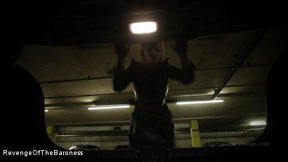 Photo number 17 from Ep 1 - Caught and Interrogated: In the Dungeon of The Baroness shot for Revenge Of The Baroness on Kink.com. Featuring Mr. Chambers and Baroness Davina Dust in hardcore BDSM & Fetish porn.