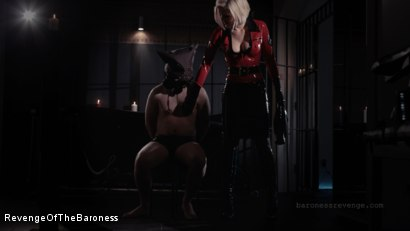 Photo number 18 from Ep 1 - Caught and Interrogated: In the Dungeon of The Baroness shot for Revenge Of The Baroness on Kink.com. Featuring Mr. Chambers and Baroness Davina Dust in hardcore BDSM & Fetish porn.