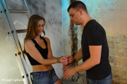 Photo number 3 from Anouk Returns! shot for Struggling Babes on Kink.com. Featuring Anouk and Ar in hardcore BDSM & Fetish porn.