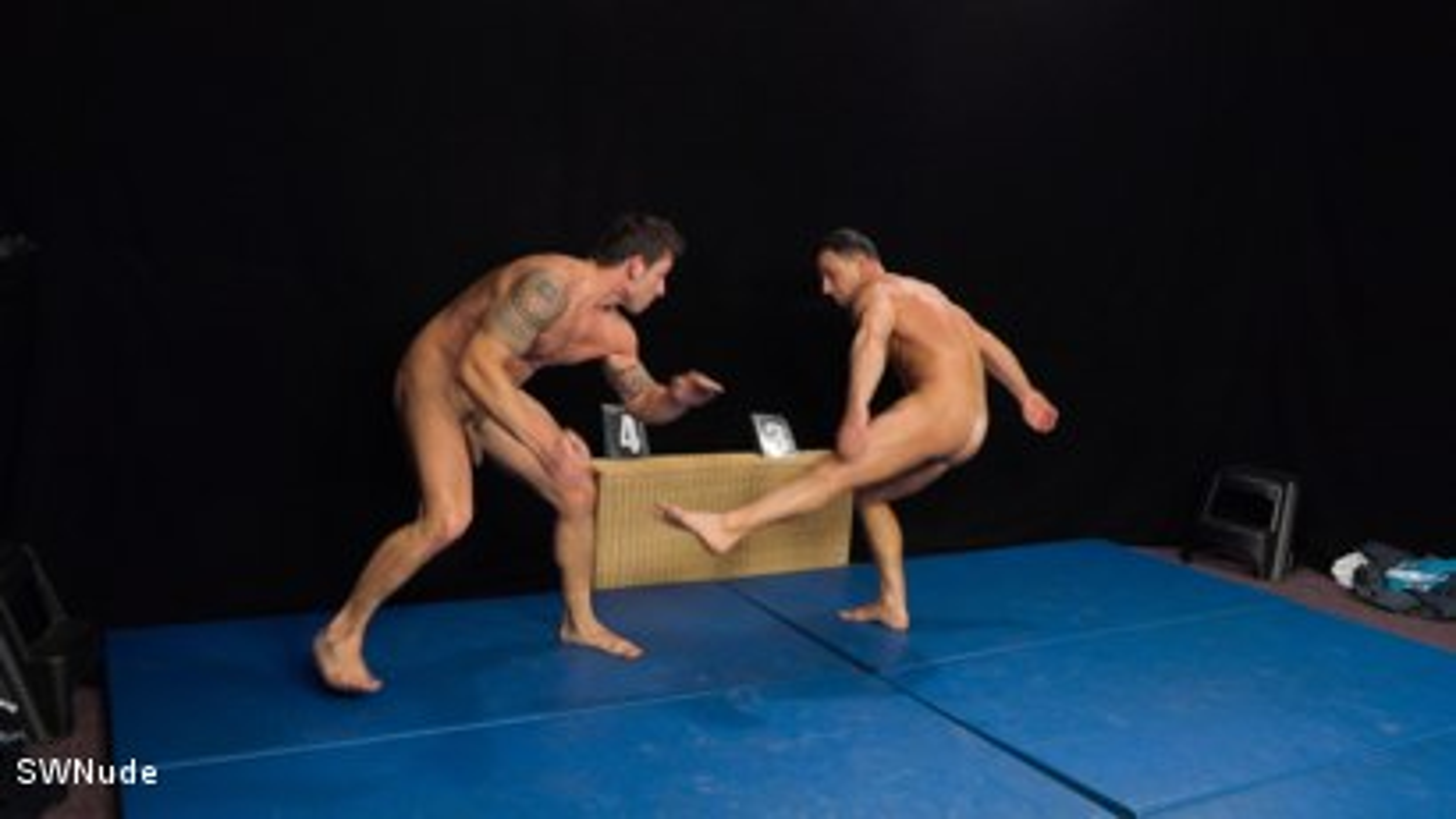 Rado vs Martin RAW - WRESTLING