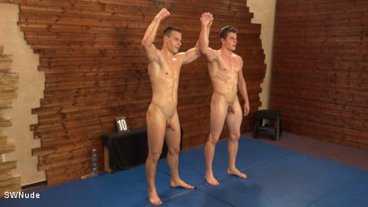 Photo number 14 from Tomas vs Ben - WRESTLING shot for swnude on Kink.com. Featuring Ben Mondo and Tomas Melus in hardcore BDSM & Fetish porn.