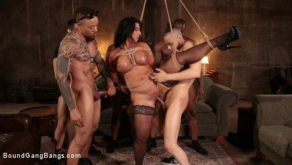 Photo number 6 from Raven Hart Gets Bound, Fucked and Wrecked in Ruthless Gangbang shot for Bound Gang Bangs on Kink.com. Featuring Donny Sins, Donnie Rock , Raven Hart, Jack Blaque, Eddie Jaye and Rob Piper in hardcore BDSM & Fetish porn.