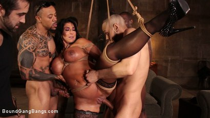 Photo number 7 from Raven Hart Gets Bound, Fucked and Wrecked in Ruthless Gangbang shot for Bound Gang Bangs on Kink.com. Featuring Donny Sins, Donnie Rock , Raven Hart, Jack Blaque, Eddie Jaye and Rob Piper in hardcore BDSM & Fetish porn.