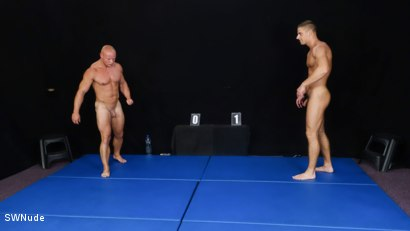 Photo number 2 from Arny vs Roco - WRESTLING shot for swnude on Kink.com. Featuring Arny Donan and Roco Moric in hardcore BDSM & Fetish porn.