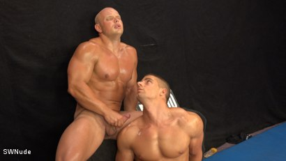 Photo number 14 from Arny vs Roco - WRESTLING shot for swnude on Kink.com. Featuring Arny Donan and Roco Moric in hardcore BDSM & Fetish porn.