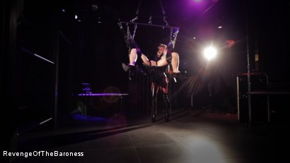 Photo number 12 from Ep 4 - Suspension, Electro-Play and Torment by the Baroness shot for Revenge Of The Baroness on Kink.com. Featuring Baroness Davina Dust and Mr. Chambers in hardcore BDSM & Fetish porn.