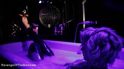 Photo number 15 from Ep 4 - Suspension, Electro-Play and Torment by the Baroness shot for Revenge Of The Baroness on Kink.com. Featuring Baroness Davina Dust and Mr. Chambers in hardcore BDSM & Fetish porn.