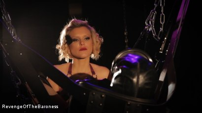Photo number 9 from Ep 4 - Suspension, Electro-Play and Torment by the Baroness shot for Revenge Of The Baroness on Kink.com. Featuring Baroness Davina Dust and Mr. Chambers in hardcore BDSM & Fetish porn.