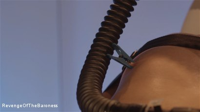 Photo number 13 from Ep 6 - Bizarre Examination: at Dr. Dust's Mercy shot for Revenge Of The Baroness on Kink.com. Featuring Baroness Davina Dust and Mr. Bates in hardcore BDSM & Fetish porn.