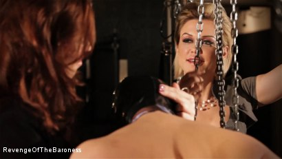 Photo number 12 from Ep 7 - The Business Slave: Seduced by Two Mistresses shot for Revenge Of The Baroness on Kink.com. Featuring Baroness Davina Dust, Princess Zuleika and Mr. Littleton in hardcore BDSM & Fetish porn.