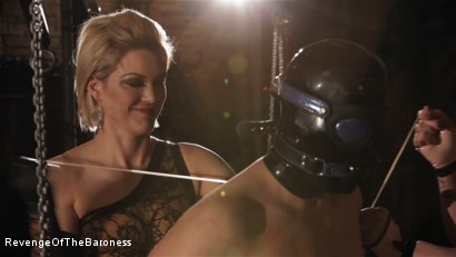 Photo number 5 from Ep 7 - The Business Slave: Seduced by Two Mistresses shot for Revenge Of The Baroness on Kink.com. Featuring Baroness Davina Dust, Princess Zuleika and Mr. Littleton in hardcore BDSM & Fetish porn.