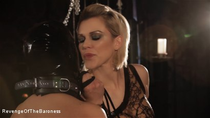 Photo number 14 from Ep 8 - Kinky Threesome: the Fuck of His Life shot for Revenge Of The Baroness on Kink.com. Featuring Baroness Davina Dust, Princess Zuleika and Mr. Littleton in hardcore BDSM & Fetish porn.