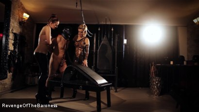 Photo number 22 from Ep 8 - Kinky Threesome: the Fuck of His Life shot for Revenge Of The Baroness on Kink.com. Featuring Baroness Davina Dust, Princess Zuleika and Mr. Littleton in hardcore BDSM & Fetish porn.
