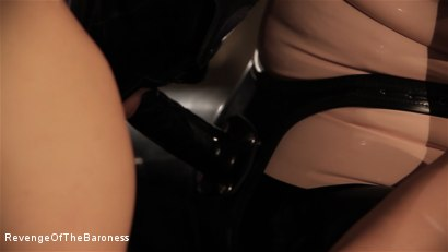 Photo number 7 from Ep 8 - Kinky Threesome: the Fuck of His Life shot for Revenge Of The Baroness on Kink.com. Featuring Baroness Davina Dust, Princess Zuleika and Mr. Littleton in hardcore BDSM & Fetish porn.