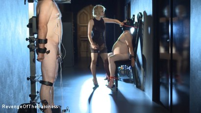 Photo number 13 from Ep 11 - Involuntary Bi Punishment: a Bad Surprise by the Baroness shot for Revenge Of The Baroness on Kink.com. Featuring Baroness Davina Dust, Mr. Friend and The Piece in hardcore BDSM & Fetish porn.