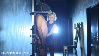 Photo number 23 from Ep 11 - Involuntary Bi Punishment: a Bad Surprise by the Baroness shot for Revenge Of The Baroness on Kink.com. Featuring Baroness Davina Dust, Mr. Friend and The Piece in hardcore BDSM & Fetish porn.