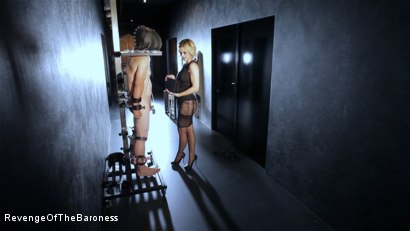 Photo number 4 from Ep 11 - Involuntary Bi Punishment: a Bad Surprise by the Baroness shot for Revenge Of The Baroness on Kink.com. Featuring Baroness Davina Dust, Mr. Friend and The Piece in hardcore BDSM & Fetish porn.