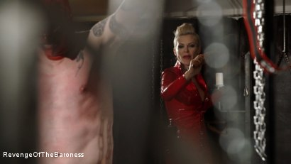Photo number 1 from Ep 14- The Flagellant: Whipped by the Baroness shot for Revenge Of The Baroness on Kink.com. Featuring Baroness Davina Dust and Mr. Pain in hardcore BDSM & Fetish porn.
