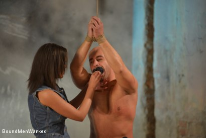 Photo number 8 from Enjoy Linet's Natural Dominance shot for Bound Men Wanked on Kink.com. Featuring Linet Slag and Need in hardcore BDSM & Fetish porn.