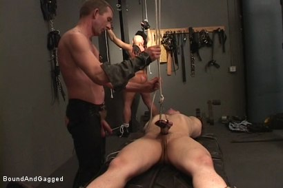 Photo number 15 from Alley Pigs in Bondage: Who's Getting Fucked Now? shot for Bound And Gagged on Kink.com. Featuring Mike Stone, Shane Stevens and Peter Sparrow in hardcore BDSM & Fetish porn.