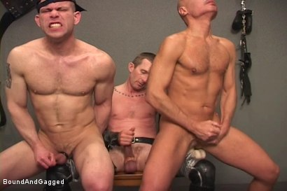 Photo number 16 from Alley Pigs in Bondage: Assfuck Time shot for Bound And Gagged on Kink.com. Featuring Mike Stone, Shane Stevens and Peter Sparrow in hardcore BDSM & Fetish porn.