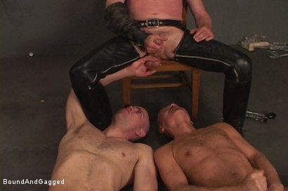 Photo number 21 from Alley Pigs in Bondage: Assfuck Time shot for Bound And Gagged on Kink.com. Featuring Mike Stone, Shane Stevens and Peter Sparrow in hardcore BDSM & Fetish porn.