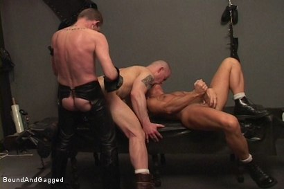 Photo number 5 from Alley Pigs in Bondage: Assfuck Time shot for Bound And Gagged on Kink.com. Featuring Mike Stone, Shane Stevens and Peter Sparrow in hardcore BDSM & Fetish porn.