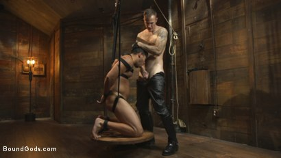 Photo number 37 from Flogged 'n' Fucked! shot for Bound Gods on Kink.com. Featuring Christian Wilde, Micah Brandt, Aarin Asker, Kaden Alexander, Trenton Ducati, Max Cameron and Connor Maguire in hardcore BDSM & Fetish porn.