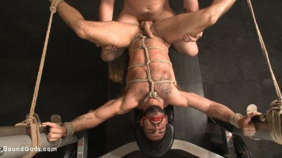 Photo number 10 from Flogged 'n' Fucked! shot for Bound Gods on Kink.com. Featuring Christian Wilde, Micah Brandt, Aarin Asker, Kaden Alexander, Trenton Ducati, Max Cameron and Connor Maguire in hardcore BDSM & Fetish porn.