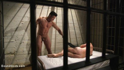 Photo number 15 from Flogged 'n' Fucked! shot for Bound Gods on Kink.com. Featuring Christian Wilde, Micah Brandt, Aarin Asker, Kaden Alexander, Trenton Ducati, Max Cameron and Connor Maguire in hardcore BDSM & Fetish porn.