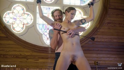 Photo number 14 from BDSM In A Choir Loft, Episode 1 shot for Wasteland on Kink.com. Featuring Ava Mir-Ausziehen and Rob Gadling in hardcore BDSM & Fetish porn.