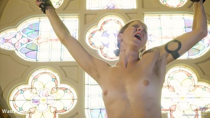 Photo number 6 from BDSM In A Choir Loft, Episode 1 shot for Wasteland on Kink.com. Featuring Ava Mir-Ausziehen and Rob Gadling in hardcore BDSM & Fetish porn.