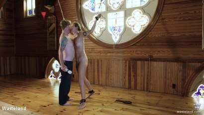 Photo number 10 from BDSM In A Choir Loft, Episode 1 shot for Wasteland on Kink.com. Featuring Ava Mir-Ausziehen and Rob Gadling in hardcore BDSM & Fetish porn.