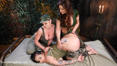 Photo number 1 from Private Tori Avano's Anal Army Initiation shot for Everything Butt on Kink.com. Featuring Tori Avano, Dee Williams and Syren de Mer in hardcore BDSM & Fetish porn.