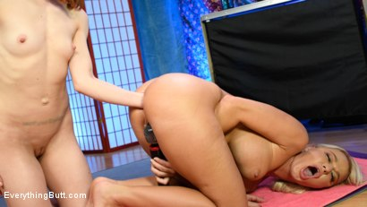 Photo number 17 from Alexa Nova Teaches London River Ass Stretching Yoga  shot for Everything Butt on Kink.com. Featuring London River and Alexa Nova in hardcore BDSM & Fetish porn.